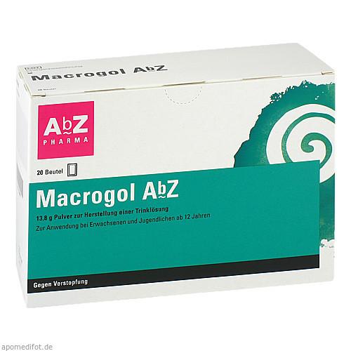 Macrogol AbZ Pulver z. Herst. e. Lsg. z. Einneh., 20 ST, Abz-Pharma GmbH
