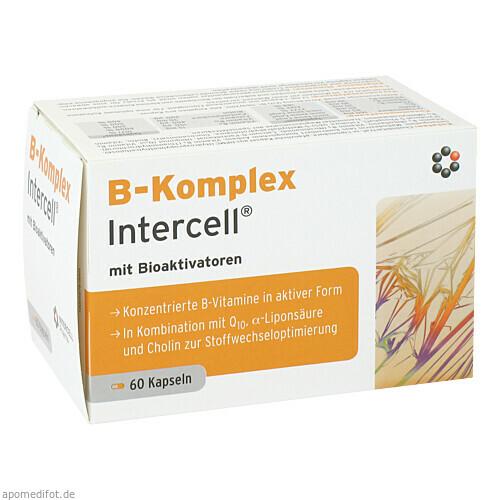 B-Komplex Intercell, 60 ST, Intercell-Pharma GmbH