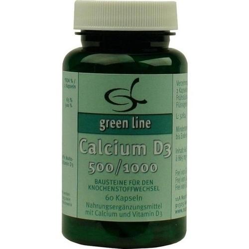 Calcium D3 500/1000, 60 ST, 11 A Nutritheke GmbH