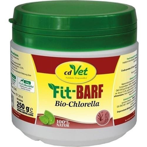 Fit-BARF Bio-Chlorella vet, 250 G, cdVet Naturprodukte GmbH