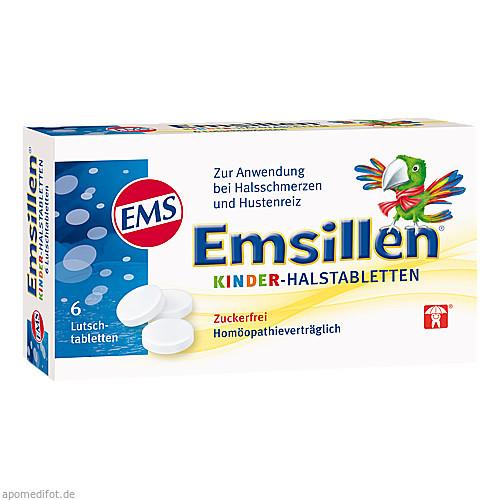 Emsillen Kinder Halstabletten, 6 ST, Siemens & Co