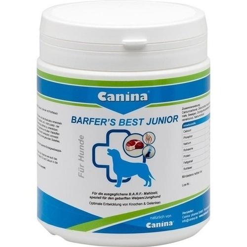Barfer's Best Junior vet., 850 G, Canina Pharma GmbH