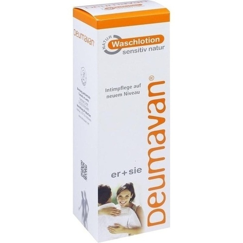 Deumavan Waschlotion sensitiv Natur ohne Lavendel, 200 ML, Kaymogyn GmbH