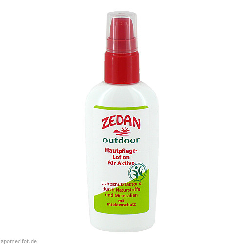 ZEDAN outdoor Lotion Multiwirkung für Aktive, 100 ML, Mm Cosmetic GmbH