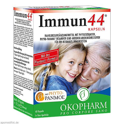 Immun44 Kapseln, 60 ST, Sanova Pharma GesmbH