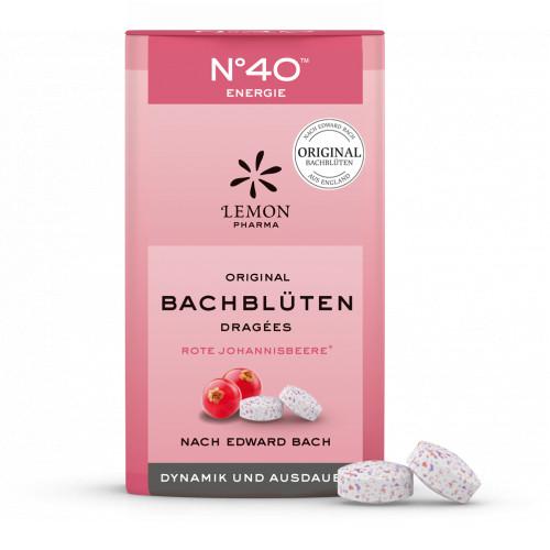 Bachblüten No. 40 Energie Dragees nach Dr. Bach, 21 G, Lemon Pharma GmbH & Co. KG