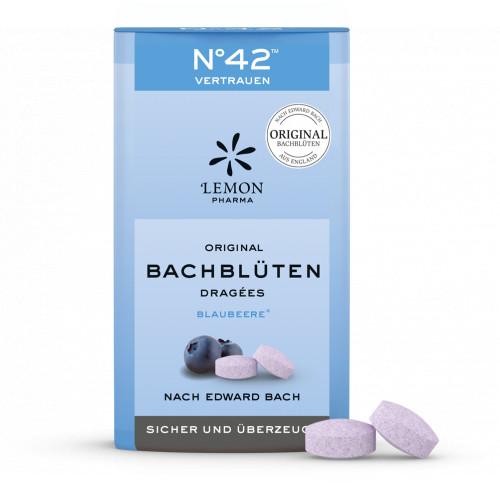 Bachblüten No. 42 Vertrauen Dragees nach Dr. Bach, 21 G, Lemon Pharma GmbH & Co. KG