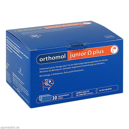 Orthomol Junior Omega Plus Kaudragees Hier Günstig Kaufen Bei Medizinfuchs De