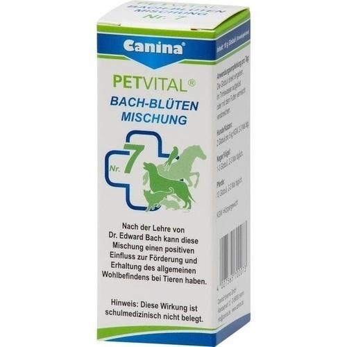 PETVITAL Bachblüten Nr. 7 vet, 10 G, Canina Pharma GmbH