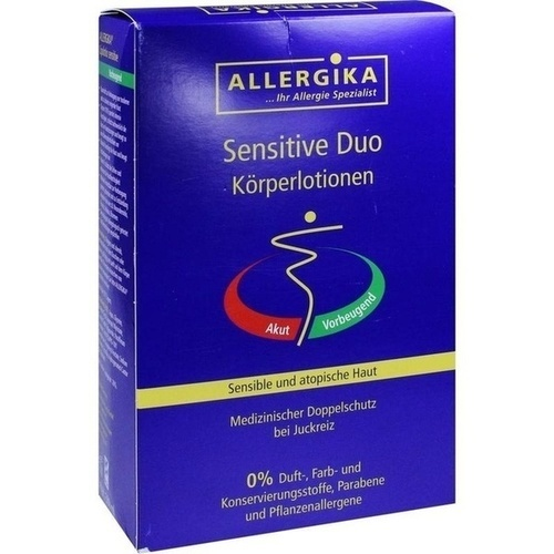 ALLERGIKA Sensitive Duo, 2X500 ML, Allergika Pharma GmbH