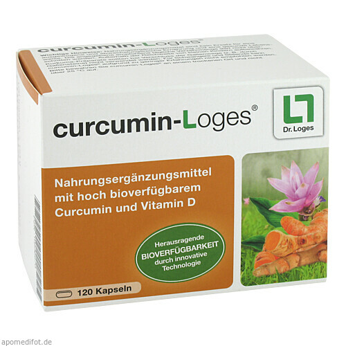 curcumin-Loges, 120 ST, Dr. Loges + Co. GmbH
