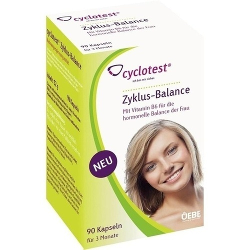 cyclotest Zyklus-Balance, 90 ST, Uebe Medical GmbH