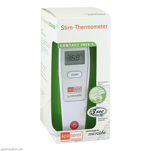 APONORM Fieberthermometer Stirn Contact-Free 3, 1 ST, WEPA Apothekenbedarf GmbH & Co KG