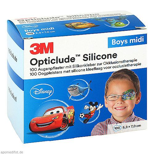 Opticlude 3M Silicone Disney Boys Midi 5.3x7cm, 100 ST, 3M Medica Zweigniederlassung der 3M Deutschland GmbH
