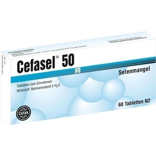 Cefasel 50ug, 60 ST, Cefak KG