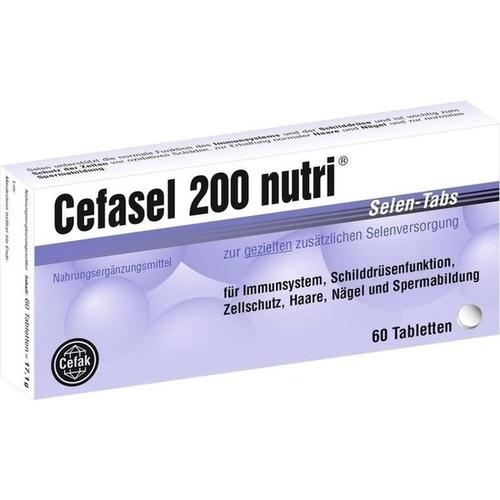 Cefasel 200 nutri Selen-Tabs, 60 ST, Cefak KG