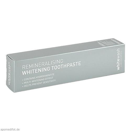 WHITEWASH Whitening remineralisierende Zahnpasta, 80 ML, Megadent Deflogrip Gerhard Reeg GmbH