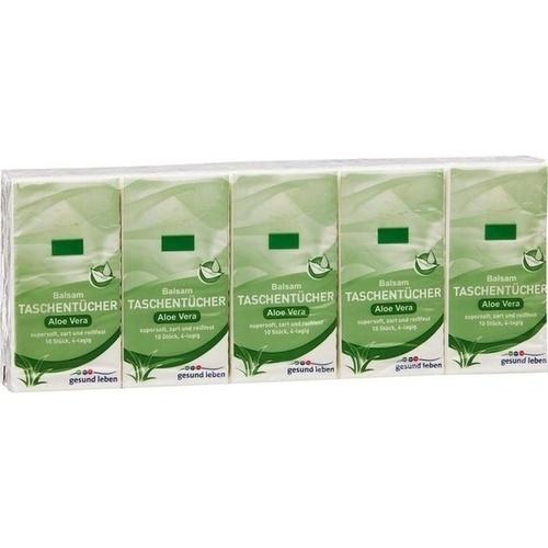 gesund leben Balsam-Taschentücher Aloe Vera, 10X10 ST, Gehe Pharma Handel GmbH