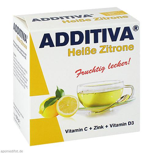 ADDITIVA Heiße Zitrone, 120 G, Dr.B.Scheffler Nachf. GmbH & Co. KG