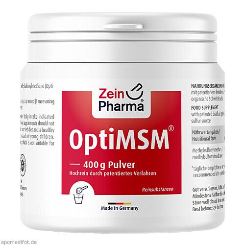 OptiMSM Pulver, 400 G, Zein Pharma - Germany GmbH