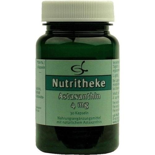 Astaxanthin 4mg, 30 ST, 11 A Nutritheke GmbH