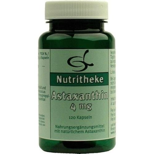 Astaxanthin 4mg, 120 ST, 11 A Nutritheke GmbH