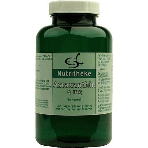 Astaxanthin 4mg, 360 ST, 11 A Nutritheke GmbH