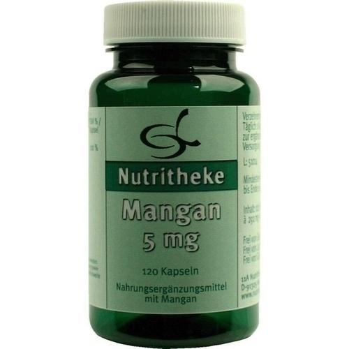 Mangan 5mg, 120 ST, 11 A Nutritheke GmbH