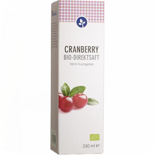 CRANBERRY 100% Bio Direktsaft, 330 ML, Aleavedis Naturprodukte GmbH