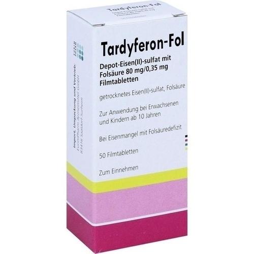 Tardyferon-Fol Depot-Eisen(II)-sulfat mit Folsäure, 50 ST, Eurimpharm Arzneimittel GmbH