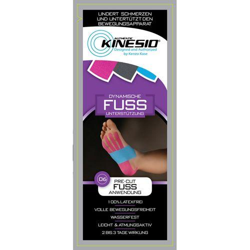 Kinesio Pre Cut Fuss Anwendung, 1 P, Werner Schmidt Pharma GmbH