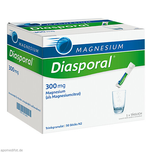 Magnesium-Diasporal 300mg, 50 ST, Protina Pharmazeutische GmbH