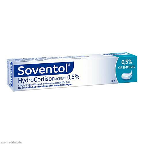 Soventol Hydrocortisonacetat 0.5%, 30 G, Medice Arzneimittel Pütter GmbH & Co. KG