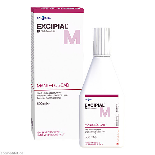 Excipial Mandelöl-Bad, 500 ML, Galderma Laboratorium GmbH