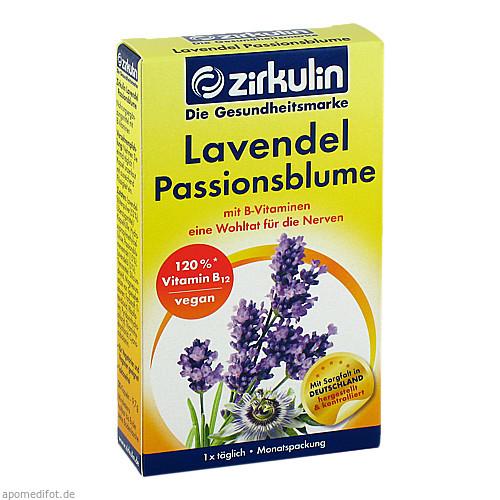 Zirkulin Lavendel Passionsblume, 30 ST, DISTRICON GmbH