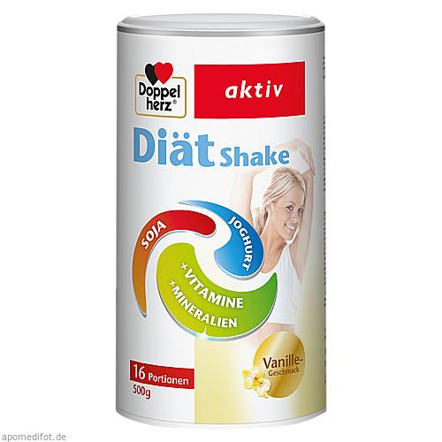 DOPPELHERZ DiätShake Vanille Pulver, 500 G, Queisser Pharma GmbH & Co. KG