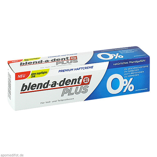 Blend-a-dent Super-Haftcreme 0%, 1 ST, Wick Pharma / Procter & Gamble GmbH
