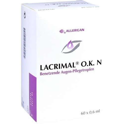 LACRIMAL O.K. N, 60X0.6 ML, Allergan Pharmaceuticals Ireland