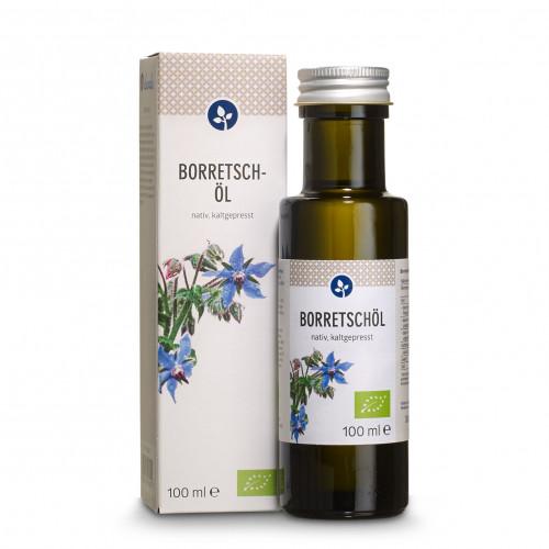 BORRETSCHÖL bio, 100 ML, Aleavedis Naturprodukte GmbH