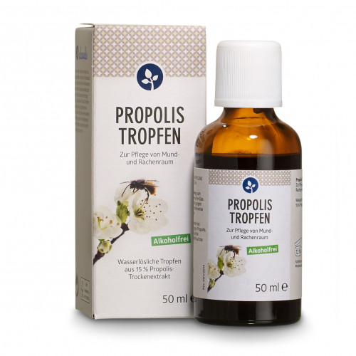 PROPOLIS Tropfen ohne Alkohol, 50 ML, Aleavedis Naturprodukte GmbH