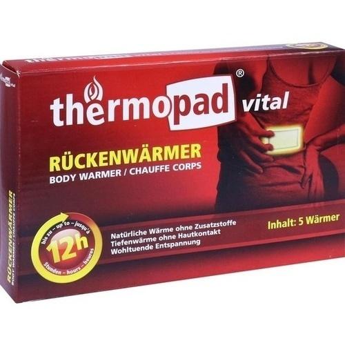 Thermopad Rückenwärmer, 5 ST, Dr.Dagmar Lohmann Pharma + Medical GmbH