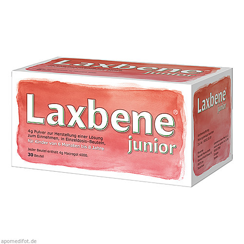 Laxbene jun4g Pul.z.Her.e.Lös.z.Einn.Kdr 6Mon-8J, 30X4 G, Recordati Pharma GmbH