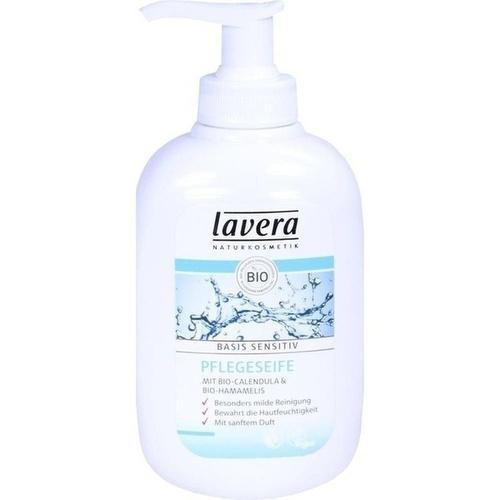 lavera basis sens Pflegeseife dt, 300 ML, Laverana GmbH & Co. KG