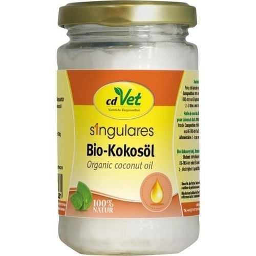 Fit-BARF Bio-Kokosöl, 200 ML, cdVet Naturprodukte GmbH