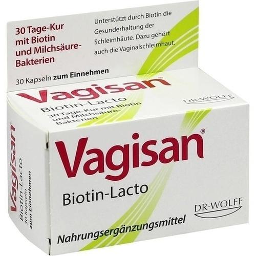 Vagisan Biotin-Lacto, 30 ST, Dr. August Wolff GmbH & Co. KG Arzneimittel