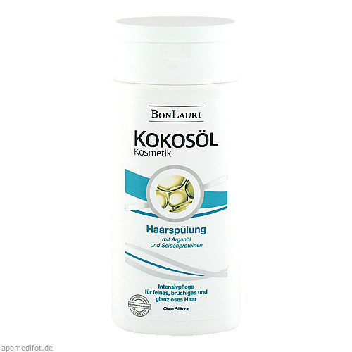 Bonlauri Kokosoel Haarspuelung Arganoel Seidenprot, 200 ML, Gammachim GmbH