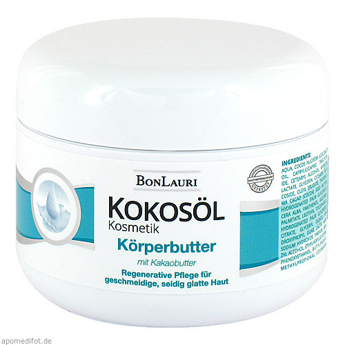 Bonlauri Kokosoel Koerperbutter mit Kakaobutter, 200 ML, Gammachim GmbH