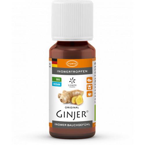 Ingwer GINJER forte Tropfen, 20 ML, Lemon Pharma GmbH & Co. KG