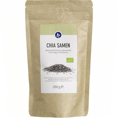 CHIA Samen 100% Bio, 250 G, Aleavedis Naturprodukte GmbH