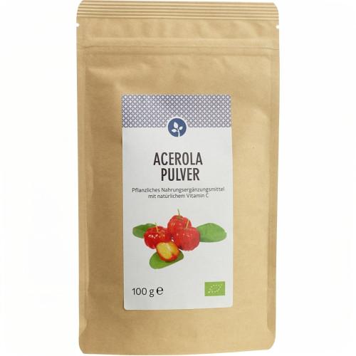 ACEROLA Pulver 100% Bio, 100 G, Aleavedis Naturprodukte GmbH